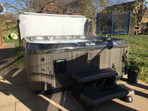 preowned hot tub