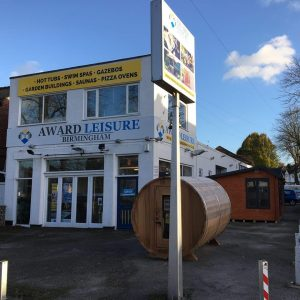 Worcestershire Hot tub showroom
