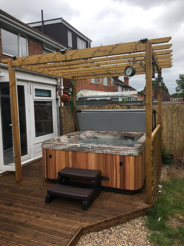 Hot Tub Solihull testimonial