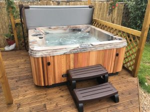 Hot Tub installed in Solihull