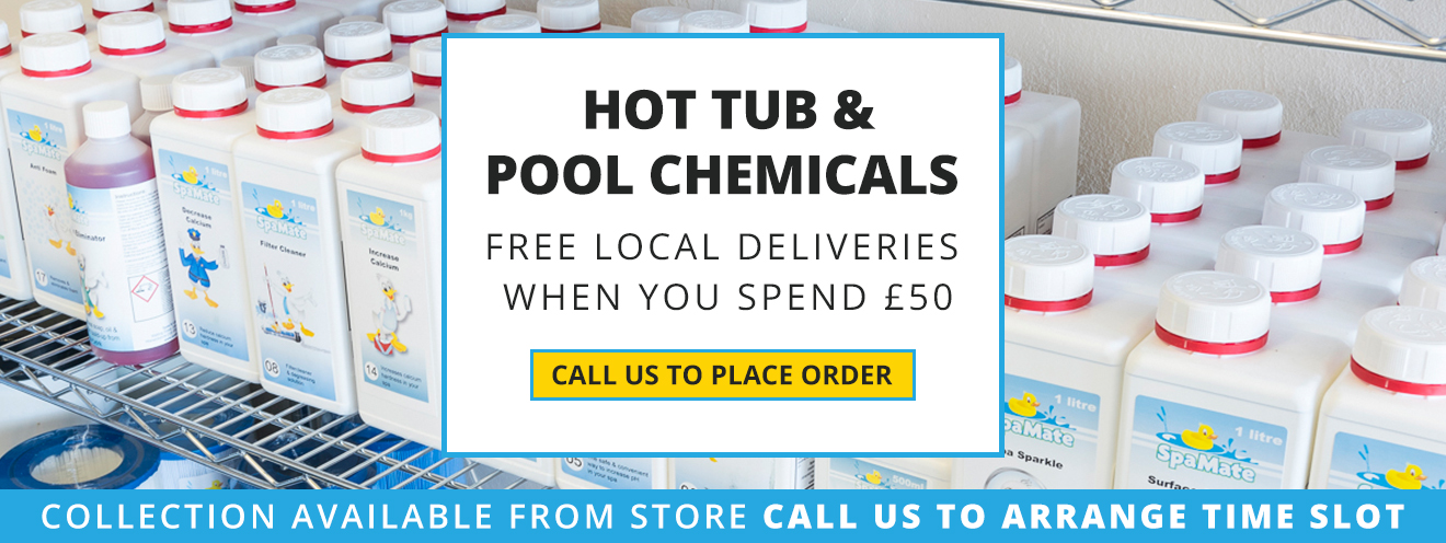 Hot Tub & Swimming Pool Chemicals Supplier