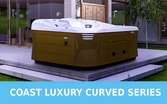Coast Luxury Curve Series Hot Tubs